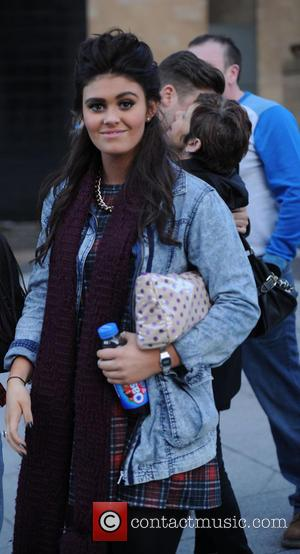 Emily Cunliffe - Kym Marsh takes her daughter Emily Mae to audition for 'Britains Got Talent' in Manchester - Manchester,...