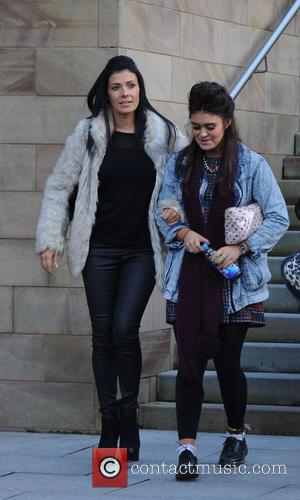 Kym Marsh and Emily Cunliffe - Kym Marsh takes her daughter Emily Mae to audition for 'Britains Got Talent' in...
