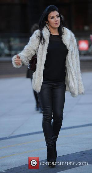 Kym Marsh - Kym Marsh takes her daughter Emily Mae to audition for 'Britains Got Talent' in Manchester - Manchester,...