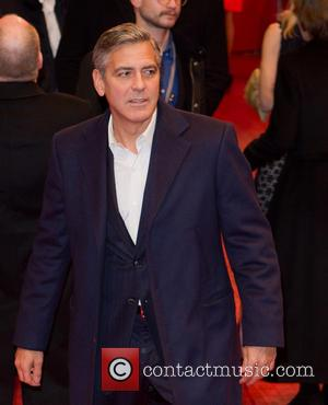 George Clooney - The Monuments Men premiere, 64th Berlin International Film Festival, (Berlinale), at the Berlinale Palast - Berlin, Germany...