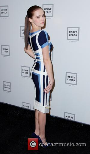 Zoey Deutch - New York Fashion Week Fall 2014 - Herve Leger by Max Azria - Arrivals - New York...