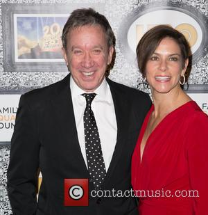 Tim Allen and Jane Hajduk - Family Equality Council's Annual Los Angeles Awards Dinner at The Globe Theatre - Arrivals...