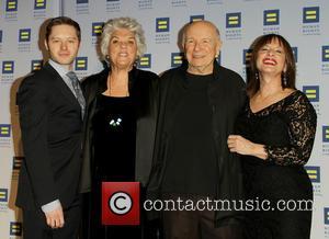 Bobby Steggert, Tyne Daly, Terrence Mcnally and Patti Lupone