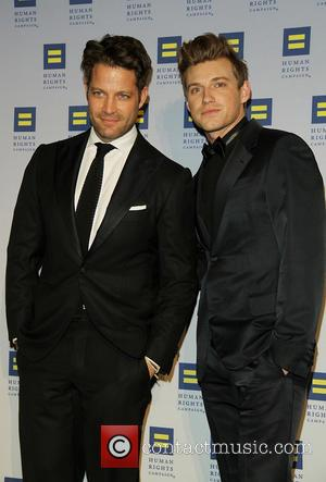 Nate Berkus and Jeremiah Brent - 13th Annual Human Rights Campaign's Greater New York Gala at the Waldorf Astoria -...