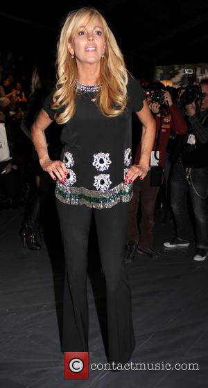 Dina Lohan - New York Fashion Week Fall 2014 - Nicole Miller - Front Row - New York, United States...