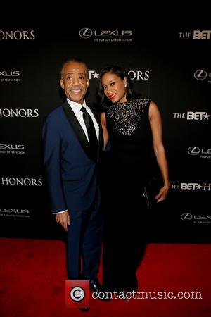 Rev. Al Sharpton and Aisha - The BET Honors 2014 Hosted by Wayne Brady Honoring Aretha Franklin, Berry Gordy, Ice...
