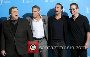 John Goodman, George Clooney, Jean Dujardin and Matt Damon - 64th Berlin International Film Festival (Berlinale) - 'The Monuments Men'...