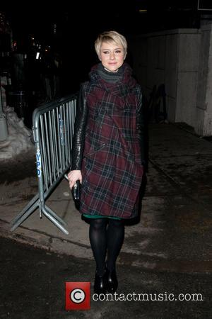 Valorie Curry - Celebrities Sightings in New York City - Nicole Miller Fashion Show - Outside Arrivals - Manhattan, New...