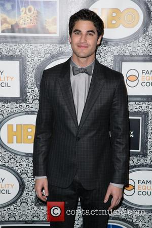 Darren Criss - Family Equality Council's Annual Los Angeles Awards Dinner at The Globe Theatre - Arrivals - Los Angeles,...