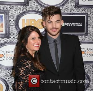Adam Lambert and Leila Lambert - Family Equality Council's Annual Los Angeles Awards Dinner at The Globe Theatre - Arrivals...