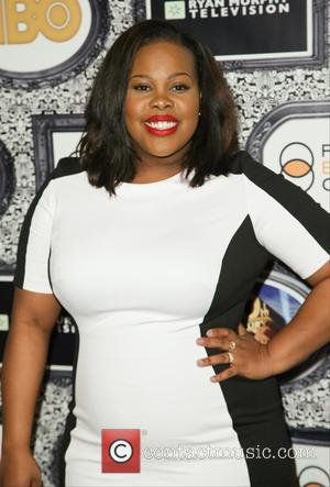 Amber Riley - Family Equality Council's Annual Los Angeles Awards Dinner at The Globe Theatre - Arrivals - Los Angeles,...