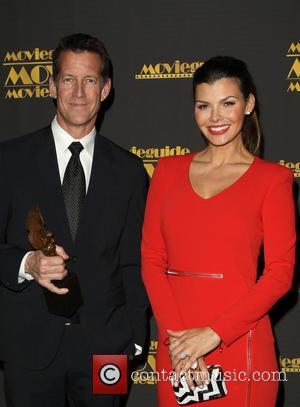 James Denton and Ali Landry - 22nd Annual Movieguide Awards Gala_Press Room At Universal Hilton Hotel - Los Angeles, California,...