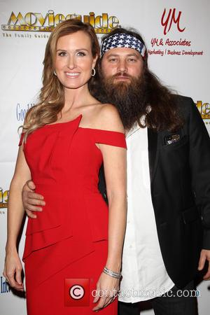 Korie Robertson and Willie Robertson - 22nd Annual Movieguide Awards Gala_Press Room At Universal Hilton Hotel - Los Angeles, California,...