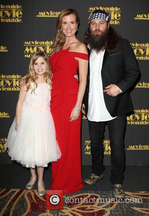 Kyla Kenedy, Korie Robertson and Willie Robertson