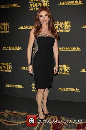 Roma Downey - 22nd Annual Movieguide Awards Gala_Press Room At Universal Hilton Hotel - Los Angeles, California, United States -...