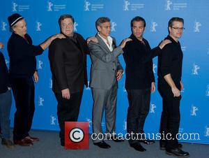 Bill Murray, John Goodman, George Clooney, Jean Dujardin and Matt Damon - Photo call for The Monuments Men, 64th Berlin...