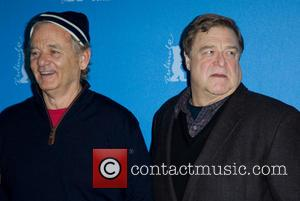 Bill Murray and John Goodman - Photo call for The Monuments Men, 64th Berlin International Film Festival, (Berlinale), at the...