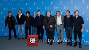 George Clooney, Matt Damon, John Goodman, Jean Dujardin, Bill Murray, Bob Balaban, Hugh Bonneville, Dimitri Leonidas and Justus Von Dohnanyi