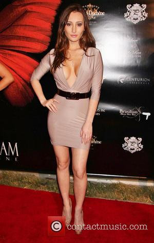 Amy Markham - Society Unici's Evento Rosso sponsored by Viva Glam Magazine held at Casa Unici - Arrivals - Los...