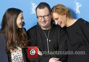 Stacy Martin, Lars von Trier and Uma Thurman