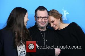 Lars Von Trier, Uma Thurman and Stacy Martin