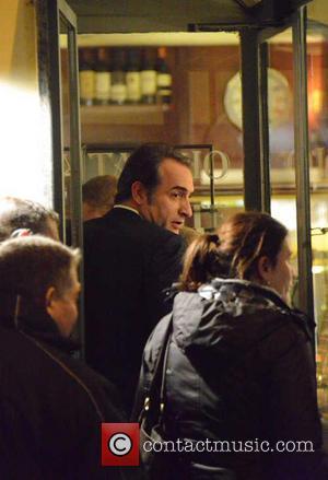 Jean Dujardin - Cast of 'The Monuments Men' at Il Pontaccio restaurant - Milan, Italy - Sunday 9th February 2014