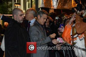 George Clooney - Cast of 'The Monuments Men' in Milan - Milan, Italy - Sunday 9th February 2014