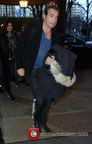 Jean Dujardin - Cast of 'The Monuments Men' in Milan - Milan, Italy - Sunday 9th February 2014