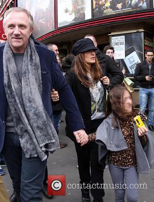 Salma Hayek, Francois-henri Pinaul and Valentina Pinault