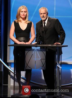 Julia Stiles and Jon Avnet