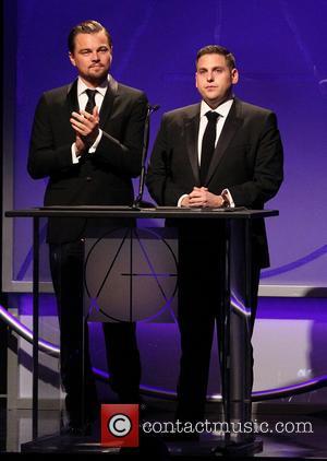 Leonardo Dicaprio and Jonah Hill