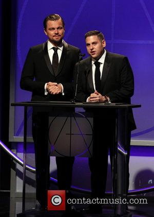Leonardo DiCaprio and Jonah Hill - 18th Annual Art Directors Guild Excellence In Production Design Awards_Show At The Beverly Hilton...