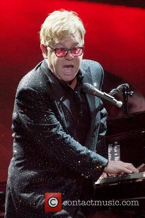 Elton John - Elton John performs live in concert at the FirstOntario Centre - Toronto, Canada - Sunday 9th February...