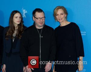 Lars Von Trier, Uma Thurman and Stacey Martin