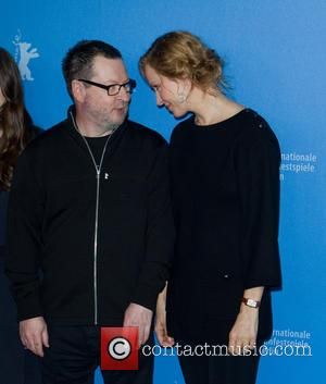 Uma Thurman and Lars Von Trier