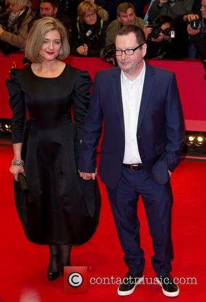 Lars Von Trier and Bente Froge
