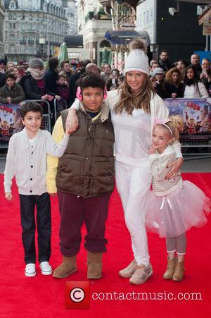 Katie Price, Princess Tiaamii Crystal Esther Andre, Harvey Price and Junior Savva Andreas Andre