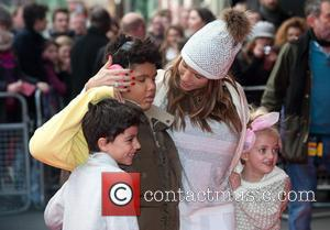 Katie Price, Junior Savva Andreas Andre, Princess Tiaamii Crystal Esther Andre and Harvey Price