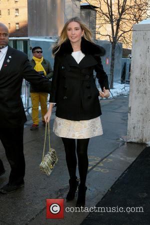 Ivanka Trump - Mercedes-Benz Fashion Week Fall 2014 -  Sightings - Manhattan, New York, United States - Monday 10th...