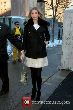 Ivanka Trump - Mercedes-Benz Fashion Week Fall 2014 -  Sightings - Manhattan, New York, United States - Monday 10th...