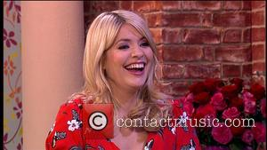 Lynda Bellingham and Holly Willoughby