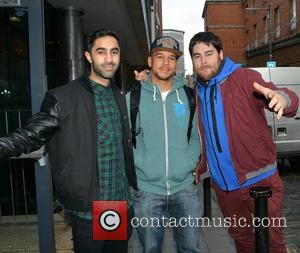 Rudimental - London based electronic music outfit 'Rudimental' at Today FM... - Dublin, Ireland - Monday 10th February 2014