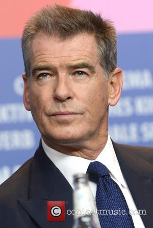Pierce Brosnan - 64th Berlin International Film Festival (Berlinale) - 'A Long Way Down' - Press Conference - Berlin, Germany...