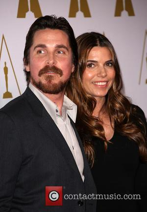 Christian Bale and Sibi Blazic - 86th Oscars Nominee Luncheon At The Beverly Hilton Hotel - Beverly Hills, California, United...