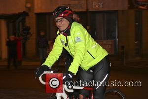 Davina McCall - Davina McCall on day 3 of her BT Sport Relief Challenge 'Davina - Beyond Breaking Point' which...