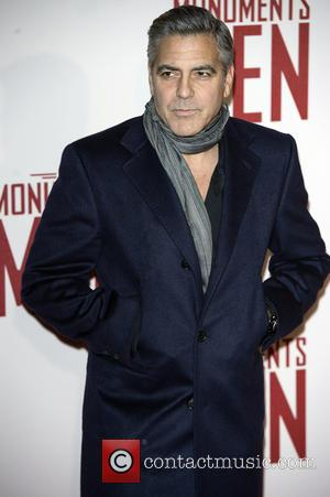 George Clooney - U.K. film premiere of 'The Monuments Men' held at the Odeon Leicester Square - Arrivals - London,...