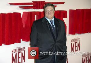 John Goodman - U.K. film premiere of 'The Monuments Men' held at the Odeon Leicester Square - Arrivals - London,...