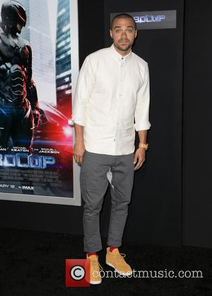 Jesse Williams - Los Angeles premiere of Columbia Pictures 'RoboCop' at TCL Chinese Theatre - Arrivals - Los Angeles, California,...