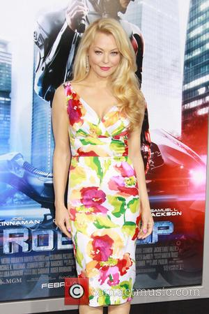Charlotte Ross - Los Angeles premiere of Columbia Pictures 'RoboCop' at TCL Chinese Theatre - Arrivals - Los Angeles, California,...