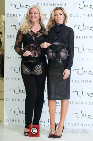 Abbey Clancy and Michelle Mone